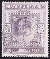 SG 315 2/6- Greyish-Purple (Somerset House) VFU